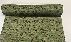 72 Woodlands Marpat Military Camouflage Auto Headliner Fabric 3 16 Foam Backed