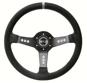 Sparco Steering Wheel L777 Suede Black 015l800sc
