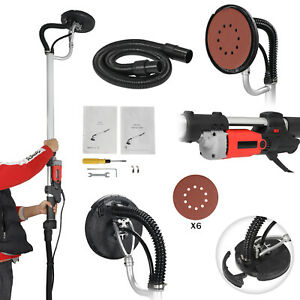 New 800w Drywall Sander Electric Adjustable Variable Speed Dry Wall Sanding