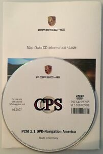 2006 2007 2008 Porsche Cayman Boxster Cayenne S Turbo Pcm 2 1 Navigation Dvd Map