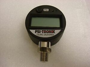 Psi Tronix Digital Pressure Gauge Pg5000 Working Condition