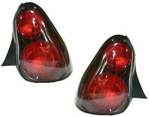 Taillights Taillamps Tail Lights Pair Set For 2000 2005 Chevy Monte Carlo