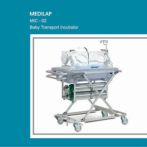 Mic 02 Infant Baby Transport Incubator Neonatal Intensive Care Unit With Backup