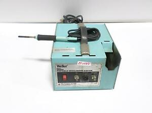 Weller Portable Desoldering Station W ec1302a Iron Ds600 pzb
