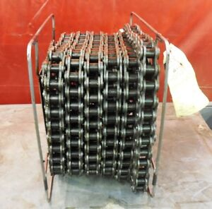 Tsubaki Roller Chain Size Ansi 100 Riveted 40 Ft Length 1 1 4 Pitch Single