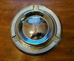 Oldsmobile 10 1 2 Dog Dish Wheel Hub Cap Used Gm Oem