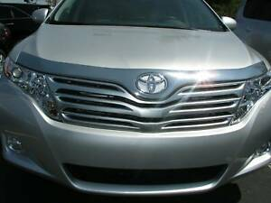Chrome Bug Guard Hood Shield 3m Tape On 622008 For Toyota Venza 2010 2016