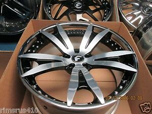 22 Forgiato Aguzzo Ecl Concave Wheels Range Rover Hse Sport Super Charged