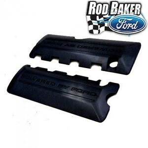 Mustang 5 0l Coyote Black Coil Covers Ford Racing M 6p067 M50bl Flat Black