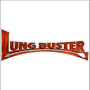Lungbuster Bow Arrow Deer Elk Hunting Decal Sticker