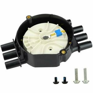 Ignition Distributor Cap Rotor Kit With Brass Terminals For Chevy Gmc Vortec V6