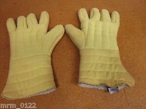 Dupont Kevlar Thick Gloves 12 3 4 Long Large New Old Stock