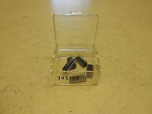 National Integrated Circuit Dm74s175n Lot Of 5