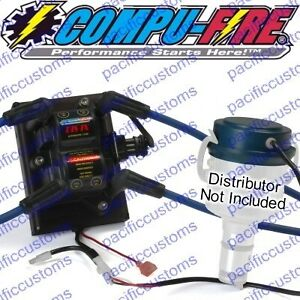 Compufire Dis ix Coil Pack Ignition System Conversion Kit With Blue Plug Wires