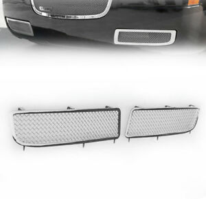 2005 2010 Chrysler 300 Front Lower Fog Light Cover Mesh Grille Grill Insert L R