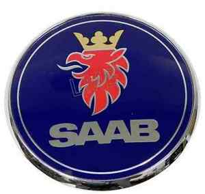 Saab Trunk Emblem Rear 9 3 Base Se Viggen Hatch Insignia Genuine