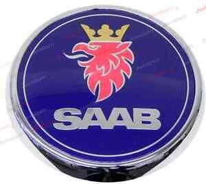 Saab 9 3 2004 2007 Arc Convertible Trunk Emblem Rear Genuine 12844160 New