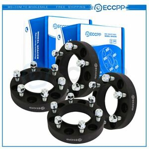 4pc 1 25 6x5 5 12x1 5 Hub Centric Wheel Spacers For Toyota Tundra 2000 2006