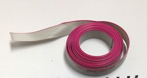 Flat Cable 10 Pin 10 Wires Idc Ribbon Roll 12 Ft Long 12mm Wide