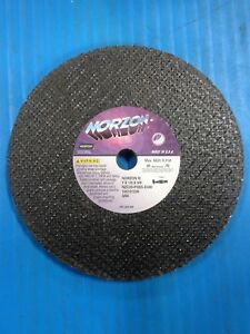 Case Norton Norzon Id Grinder Grinding Wheels 7 X 1 2 X 5 8 Portable Snagging 5c