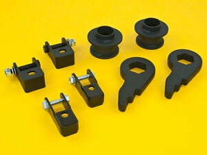 Forged Lift Kit Front 1 3 Rear 2 5 Lift Kit Suv Gmc Chevy 00 06 2wd 4wd
