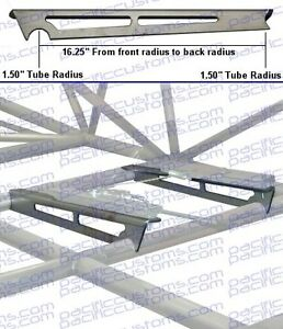Weld In Seat Brackets For Sliders On Sand Rail Frame For 1 Seat Sandrail Buggy