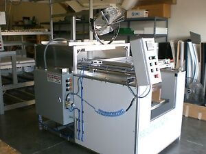 Sibe Auto Vacuum Forming Machine 24 X 24 Top Bottom Heater Plc Automatic