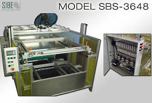 Vacuum Forming Machine 36 X 48 Top And Bottom Heaters
