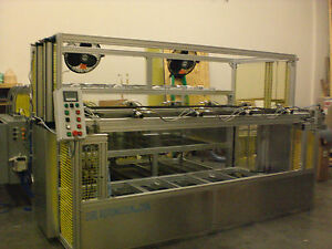 Vacuum Forming Machine 48 X 96 Top And Bottom Infrared Heater Plc Control Auto