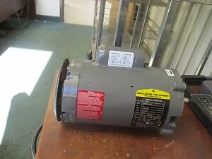 Baldor Ac Motor Jl1303a 5hp 3450rpm 115 230v 7 4 3 7a New Surplus