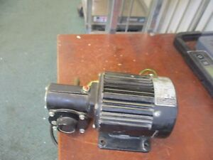 Bodine Gear Motor 42r4bfsi 5l 1 8hp 85rpm 115v 3 0a Used