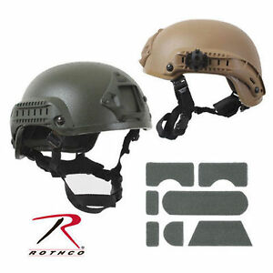 Airsoft Coyote Black Olive Drab Green Base Jump Military Tactical Army Helmet