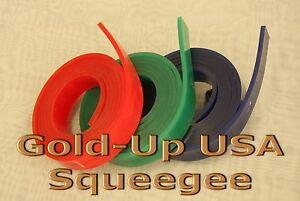 Screen Printing Squeegee Single 50mm X 9mm X72 Roll 75 Duro
