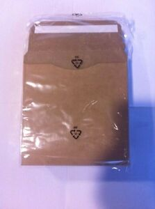 500 Pcs 5 1 4 Eco Friendly Cardboard Cd Dvd Mailers Js93eco
