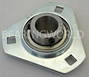 Sbpft204 12 High Quality 3 4 Pressed Steel Triangle 3 bolt Flange Bearing