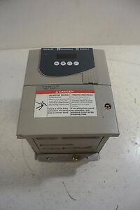Telemecanique Altivar Ac Variable Frequency Drive Motor Control Cat Atv28hu18n4