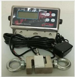 Crane Scale 3000x0 5lb S Type Load Cell 3k digital Indicator