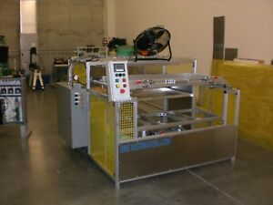 Sibe Automation Vacuum Forming Machine 24 X 48 Top Bottom Heaters 16 Zones