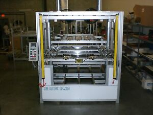 Sibe Automation Vacuum Former 48 X 48 Thermoformer 2 Platens Top Bottom Heat