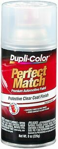 Duplicolor Bcl0125 Perfect Match Clear Top Coat 8 Oz Aerosol Spray Paint