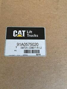 Caterpillar Forklift Combination Switch 91a0575020 New Cat Combo Lights Shifter