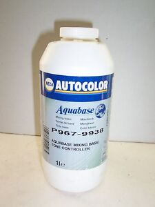 P969 pp63 1 Litre Nexa Aquabase Mixing Tinter Waterbased Ici Ppg Basecoat