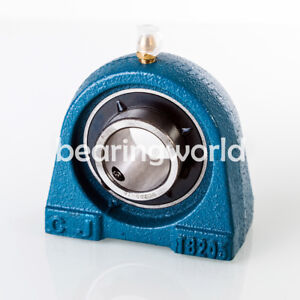 New Uctb210 30 High Quality 1 7 8 Tapped Base Pillow Block Bearing