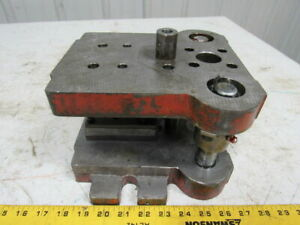 Punch Press Die Set shoe Rectangular 2 Back Posts 6 1 2w 8 1 2fb 6 1 2 Throat