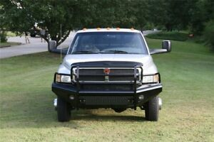 New Ranch Style Front Bumper 94 95 96 97 98 99 00 01 Dodge Ram Fab Fours