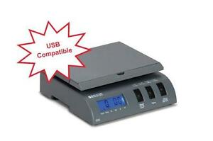 Brecknell 335 Electronic Portable Postal Parcel Usb Scale 35 Lb X 0 2oz gray new