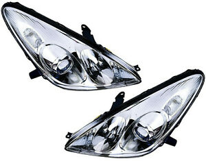 Hid Xenon Headlights Headlamps Lights Lamps New Pair Set For 05 06 Lexus Es330