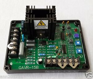 1pc Brushless Generator Within 300kw Automatic Voltage Regulator Avr Gavr 15a
