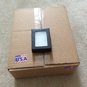 1 Case of 24 3 1 4 X 4 1 4 X 3 4 Display Cases riker Type Made In Usa