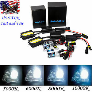 Ac 55w H11 H8 H9 Xenon Hid Kit Built In Canbus Canceller No Flicker No Error